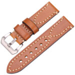 Brown Silver Buckle